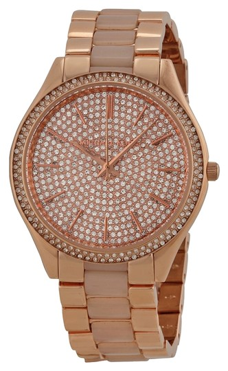 Preload https://img-static.tradesy.com/item/4878451/michael-kors-michael-kors-crystal-pave-dial-rose-gold-and-blush-acetate-ladies-designer-watch-4878451-0-0-540-540.jpg
