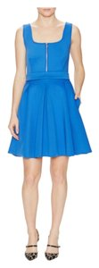 Maje short dress Blue on Tradesy