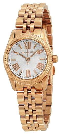 Michael Kors Michael Kors White Dial Rose Gold Classic Ladies Designer Watch