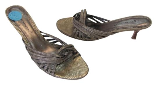 A. Marinelli Size 8.00 Gold Sandals
