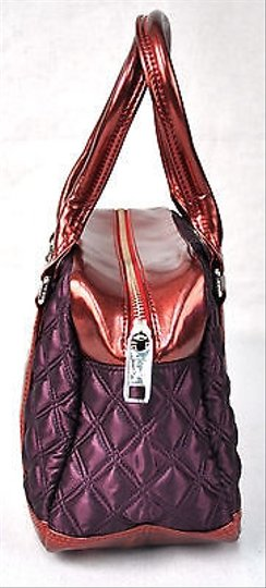 Marc Jacobs Quilted Satin Bowler Speedy Dk Shoulder Bag