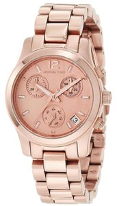 Michael Kors Michael Kors Rose Gold Classic Casual Ladies Designer Watch
