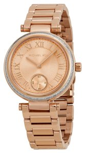 Michael Kors Michael Kors Rose Gold Crystal Bezel Ladies designer Fashion Watch