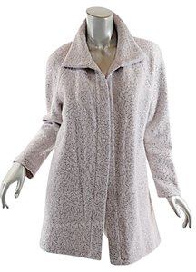 Vitamin Boucle Jacket Silver Sequins Coat