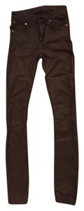Helmut Lang Denim Comfortable Casual Night Out Date Night Skinny Jeans-Coated