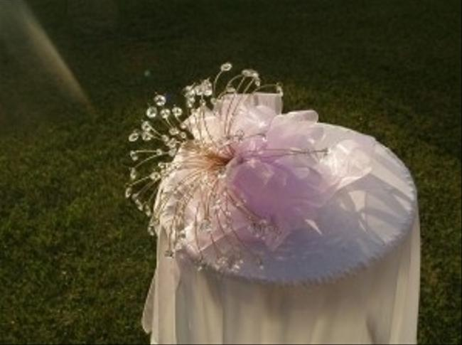 Lavender Gold Bouquet with Lots Of Faceted Crystals Lavender Gold Bouquet with Lots Of Faceted Crystals Image 3