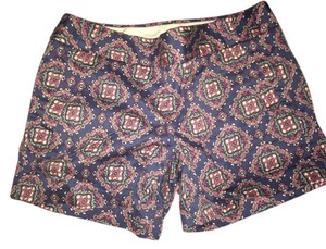 J.Crew Dress Shorts Blue/ Multicolored