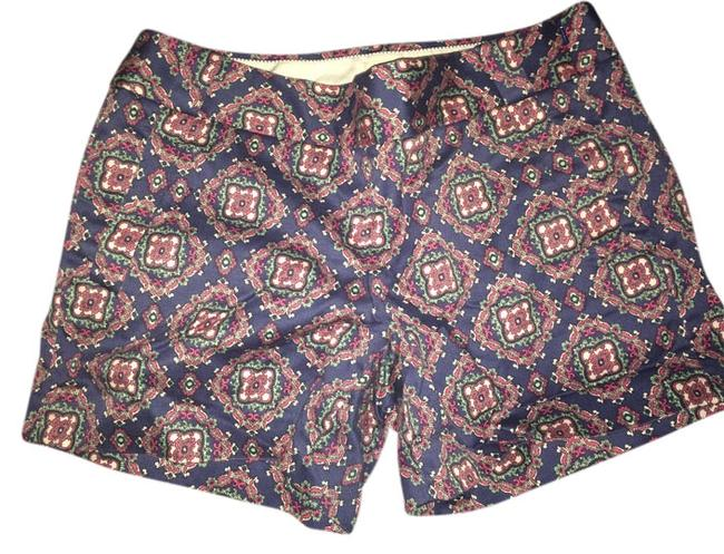 J.Crew Dress Shorts Blue/ Multicolored Image 0
