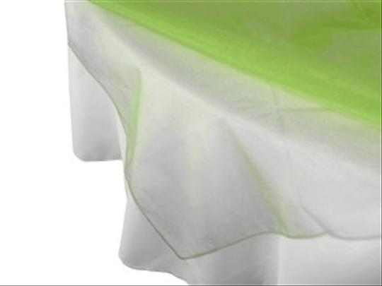 """Green Apple Organza Overlay's 72"""" 14 In Quantity"""