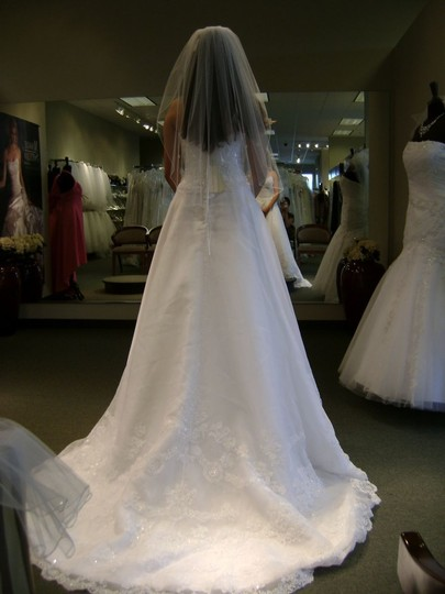 Preload https://item4.tradesy.com/images/casablanca-white-organza-1992-formal-wedding-dress-size-4-s-48828-0-0.jpg?width=440&height=440
