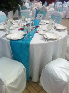 Other 15 Turquoise / Aqua Table Runners 12