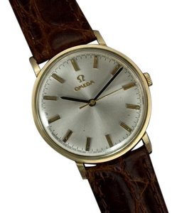 Omega 1973 Omega Vintage Mens Dress Watch, Technical Dial, IBM Presentation