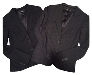 Club Monaco Club Monaco Black Pinstripe Wool Blazer Suit Jacket