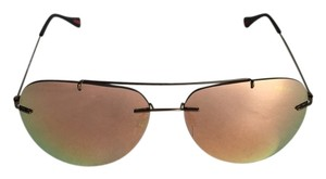 Prada 'Pilot' 60mm Rimless Aviator Sunglasses