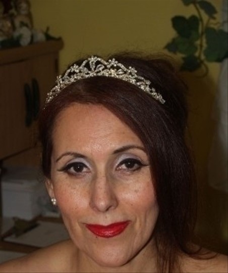 Silver/Unknown /Gold Crystals #7766 Tiaras