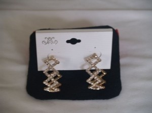 Hoop Rhinestones Earrings Ea-02