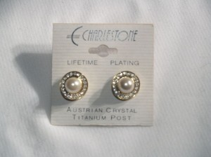Earrings Austrian Crystals Eag-04