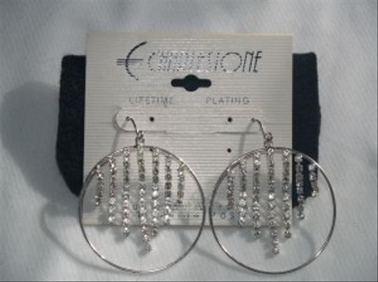 Earrings Hoops Austrian Crystals Eas-08