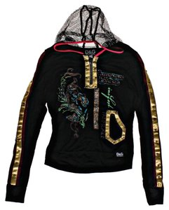 Dolce&Gabbana Logo Hooded Jacket