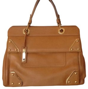 Escada Satchel in Caramel
