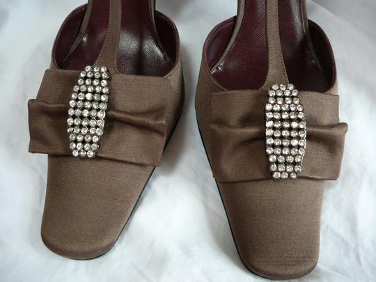 Chanel 39.5 39.5 39.5 New Brown Pumps Image 1
