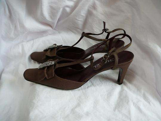 Chanel 39.5 39.5 39.5 New Brown Pumps Image 2