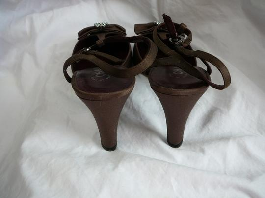 Chanel 39.5 39.5 39.5 New Brown Pumps Image 3