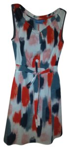 Simply Vera Vera Wang short dress White, multi on Tradesy