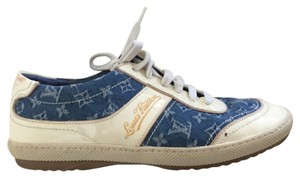 Louis Vuitton Denim, White, and Blue Athletic