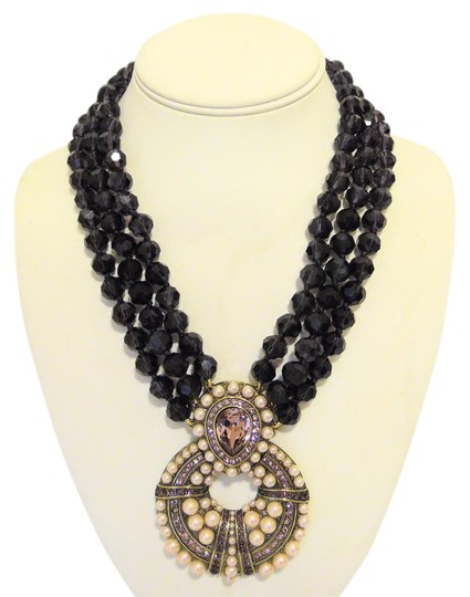 Preload https://img-static.tradesy.com/item/4901416/heidi-daus-bronzetone-global-glamour-3-row-beaded-drop-necklace-0-3-540-540.jpg