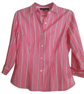 Jones New York Button Down Shirt pink