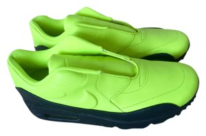 Nike Black and green neon Boots