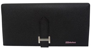 Hermès Hermes Bearn Clutch Wallet New
