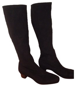 Munro American Black Suede Boots