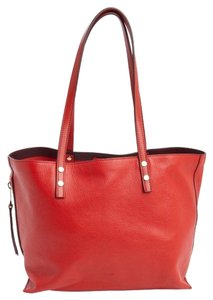 Chloé Chloe Brand New Leather Tote in red