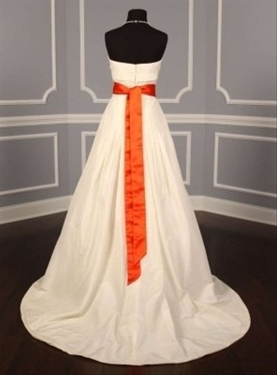 Your Dream Dress Exclusive Autumn Orange Embellished Bridal Sash