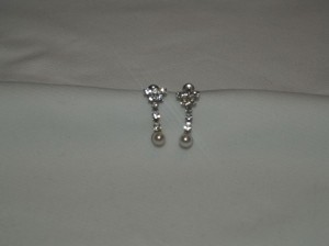 Earrings Crystals And Pearls