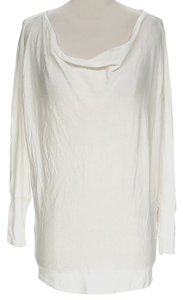 Alice + Olivia Longsleeve Sheer Cowl-neck Tunic