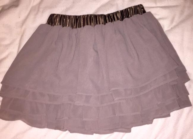 Divided by H&M Tulle Ballerina Mini Skirt Gray