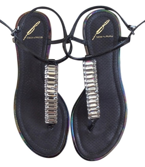Preload https://item1.tradesy.com/images/brian-atwood-black-jeweled-sandals-size-us-6-4906885-0-0.jpg?width=440&height=440