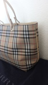 Burberry London Tote in Burberry London checkers