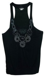 Libian Embellishments Top Black