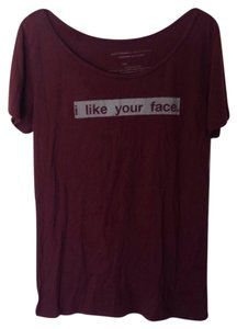 Good hyouman T Shirt Burgundy