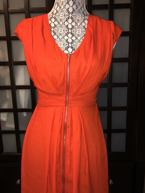 H&M short dress Orange Sundress Zipper on Tradesy Image 1