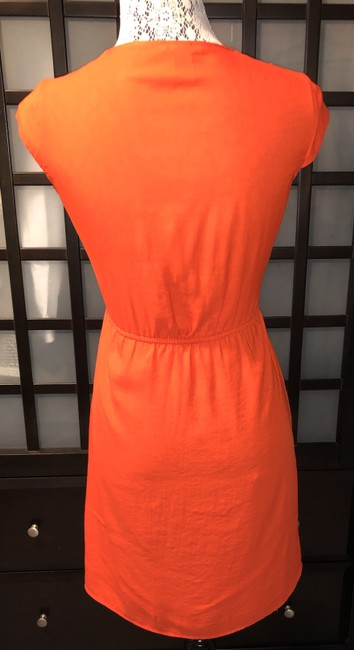 H&M short dress Orange Sundress Zipper on Tradesy Image 3