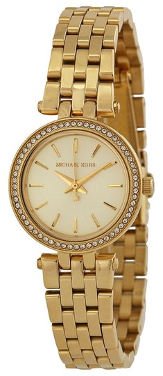 Michael Kors Michael Kors Gold Casula Ladies Designer Waych with Crystals