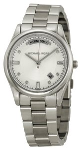 Michael Kors Michael Kors Silver Tone Classic Stainless Steel Ladies Designer Watch
