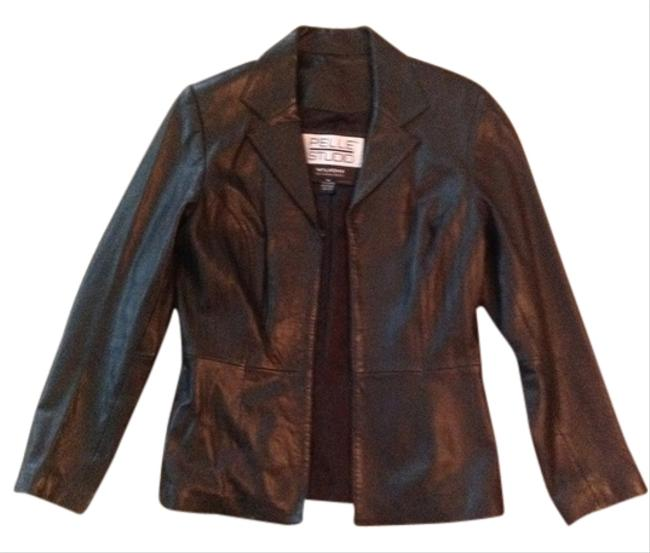 Wilsons Leather Black Blazer