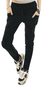 Genie Low Rise Dress Casual Brand New Inseam Emo Punk Rocker New Age Trendy Skinny Pants Black