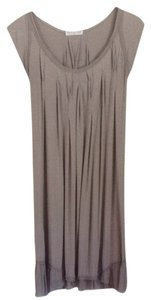 Colleen Eitzen short dress Light Taupe on Tradesy